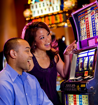 play slots at casino